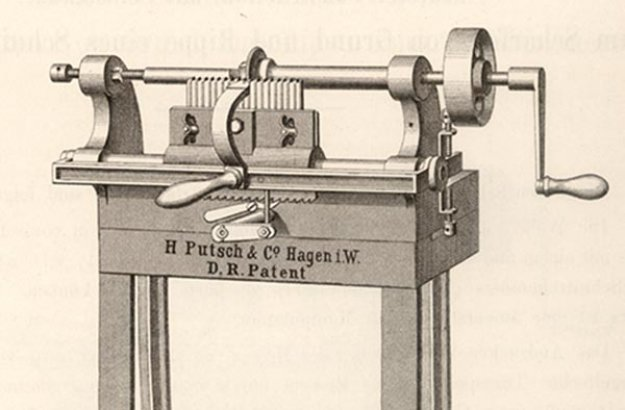 Knife-sharpening machines from 1880