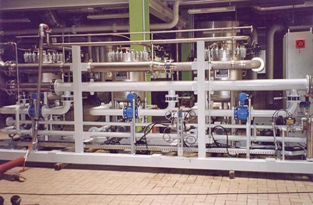 Self-cleaning mesh filter Putsch® Sibomat